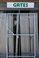 GALVANISED STEEL GATE FRAMES FOR DRIVEWAY, GARDEN ETC