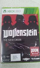 Wolfenstein The New Order XBOX 360 (with Doom code) (NEW)