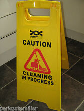 Wet Floor Warning Sign Cleaning In Progress Warning Sign FREE P&P