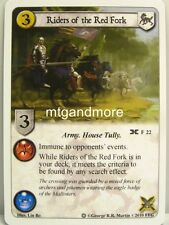 A Game of Thrones LCG - 1x Riders of the Red Fork #022 - Ice and Fire Draft Pack