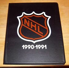 Kraft Hockey Albums complete with cards 1990-91