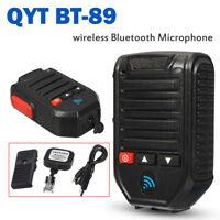 BT-89 Wireless bluetooth Microphone For QYT KT-7900D KT-8900D Car Mobile  !