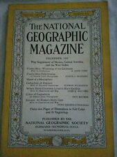 The National Geographic December 1939. Coca cola Christmas ad