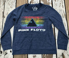 PINK FLOYD • Women's Vintage Band Retro CHASER Sweatshirt Sweater Pullover SMALL