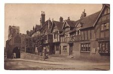 United Kingdom England postcard Warwick The Leicester Hospital