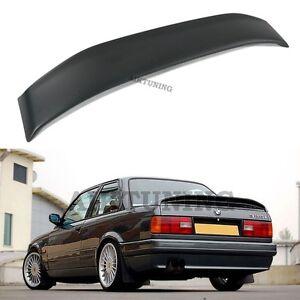 Rear Spoiler Wing Trunk Lid Lip Apron (Fits BMW E30 Mtech 2 Coupe, Sedan, Cabri)
