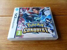 Pokemon CONQUISTA NINTENDO DS en Caja Inmaculada Completa con puntos Club
