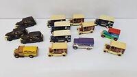 Job Lot Of Miniature Cadbury's Vans- Retro- Days Gone, Corgi Collectables Toys