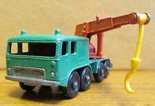 Vintage Lesney Made in England Die Cast Model - Matchbox No. 30 8 Wheel Crane