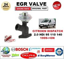 FOR CITROEN DISPATCH 2.0 HDi 95 110 140 1999-ON EGR VALVE Pneumatic