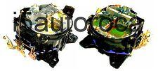SET OF 2 MARINE CARBURETORS 4BBL ROCHESTER QUADRAJET4MV 7.4L 454 ENG MERCRUISER