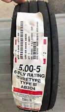 Tire Air Hawk 5.00-5, 6 Ply Tire AB3D4