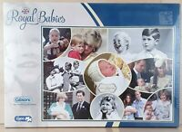 GIBSONS ROYAL BABIES 1000 PIECE JIGSAW PUZZLE WILLIAM KATE DIANA CHARLES NEW