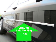 2pcs CHROME SIDE DOOR BODY Molding Trim Stripe for ford models 2007-2012