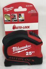 Milwaukee - 48-22-6825 - 25' Compact Auto Lock Tape Measure