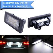 2x 24 LED License Number Plate Lights For BMW E90 M3 E92 E70 E39 E60 E61 E93 F30