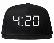 Kings Of NY 420 Weed Marijuana Printed Snapback Hat High Legalize