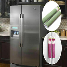 1 пара холодильник двери защитить ручку крышки домашний холодильник микроволновая печь чехол