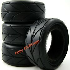 4pcs New RC 1:10 Soft Tires Tyres For RC On Road Touring Car upgrade parts