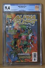 ALPHA FLIGHT (Vol 2) #17 KEY 1st Chronological App. BIG HERO SIX (6) CGC 9.4