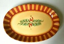 """SOUTHERN LIVING at Home GAIL PITTMAN #40330 SIENNA PLATTER~Discontinued~14.5"""""""