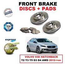 Discos de freno delanteros + discos para VOLVO V40 Hatchback T2 T3 T5 D3 D4 Y