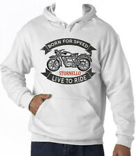 MOTO GUZZI STORNELLO - NEW AMAZING GRAPHIC HOODIE S-M-L-XL-XXL