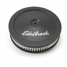Edelbrock 1203 Air Filter Assembly 10 Black Signature Series Air Cleaner