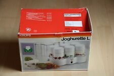 Krups Joghurette L Originalverpackt mit 6 Gläsern, Haube, Bedienungsanleitung