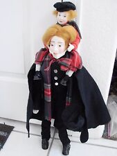 Dept 56 Heritage Dickens Christmas Carol Doll Bob Cratchit & Tiny Tim