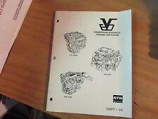 GM Factory 1994 STG V6 60 Degree Powertrain Enhancement Manual L82 L32 GMPT/V6