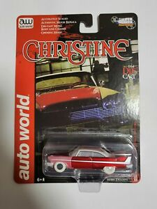 1:64 Christine Partially Restored Version 1958 Plymouth Fury Auto World Chase