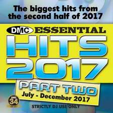 DMC Essential Hits 2017 Part 2 July - December Chart Music DJ CD