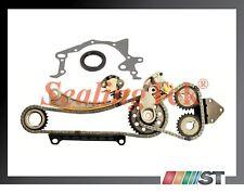 Fit 96-09 Suzuki J18A J20A J23A Engine Timing Chain Gear Kit w/ Oil Seal Gasket