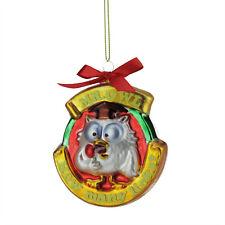 "TR35921 3.5"" Tootsie Roll Pop Mr. Owl ""How Many Licks"" Candy Lane Glass Ornament"