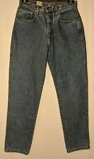 """WOMEN'S GRIPP JEANS RELAXED COTTON BLUE MADE IN AUSTRALIA SIZE 13 LEG 32"""" NWT"""