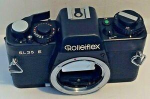 Rolleiflex SL35 E SLR 35mm Film Camera Body Only - Black, QBM Mount