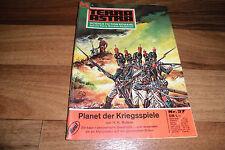 TERRA ASTRA  # 37 -- PLANET der KRIEGSSPIELE // H.K. Bulmer 1972
