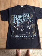 Rascal Flatts Nothing Like This Tour T-shirt 2011 S Black