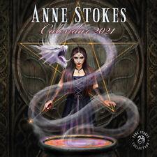 "Anne Stokes Official 2021 Calendar - size 12"" x 12"""