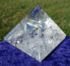 Clear Quartz BRAZILCrystal Pyramid HARD TO FIND Point Spectacular Quality