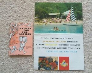 Hayman (Island) for the Layman (comedic) Vintage 1965 Booklet & Brochure