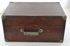 1921 Victor Victrola Model 50, VV-50, # 7780 Oak finish portable phonograph