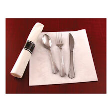 1000 Pieces Silver Secrets Plastic Silverware SERVES 250 Wedding Party Reception