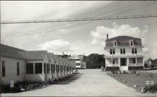 York Beach ME Motel Real Photo Postcard #2