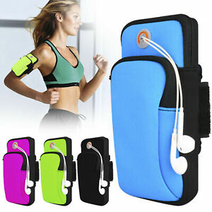 Gym Sport Running Jogging Armband Arm Band Pouch Holder Bag For iPhone 11 X /7/8