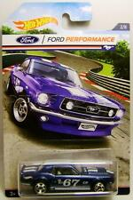 1967 '67 FORD MUSTANG COUPE FORD PERFORMANCE 2/8 HOT WHEELS DIECAST 2016