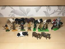 Large Britains Bundle Assorted Joblot Scarecrow, Horse, Animal, Soldier, Knight