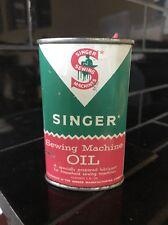 Singer Sewing Machine Handy Household Vintage Oil Oiler Tin