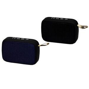 ALTAVOZ PORTATIL BLUETOOTH CUADRADO USB SD MANOS LIBRES CABLE CARGA INCLUIDO